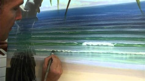 acrylic painting techniques   paint waves part
