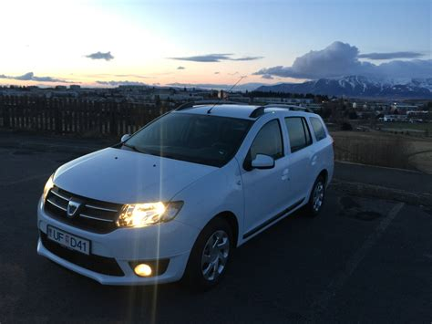rent a dacia logan mcv car in iceland