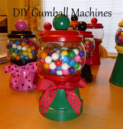 How To Make A Paper Gumball Machine - diy gumball machines and dispensers