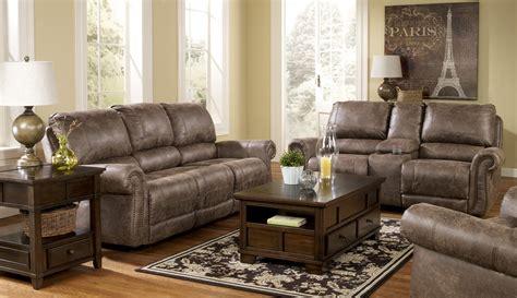power reclining living room set oberson gunsmoke power reclining living room set from