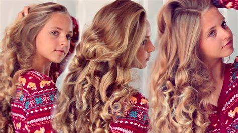 heatless prom hairstyles heatless curls overnight using socks hair beauty