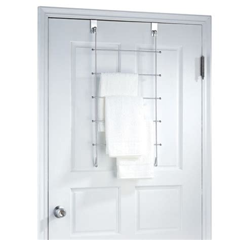 Towel Door Rack by Three Racks For Your Towel Wash Cloth Towel