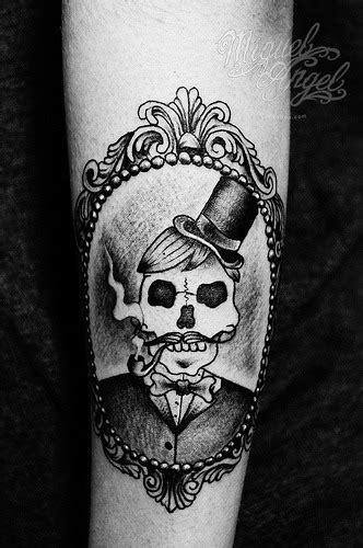 skull tattoos tumblr skull cameo