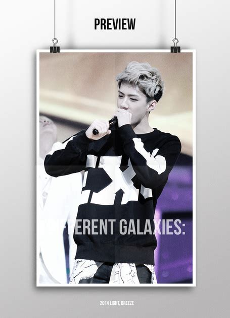 Exo A2 Poster Ver B By Knk archives lovely b 러블리 b