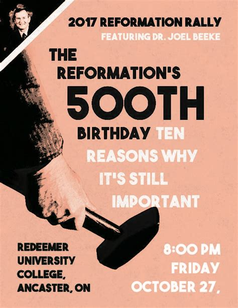 new calvinism new reformation or theological fad books reformation rally in ontario church welcomes you