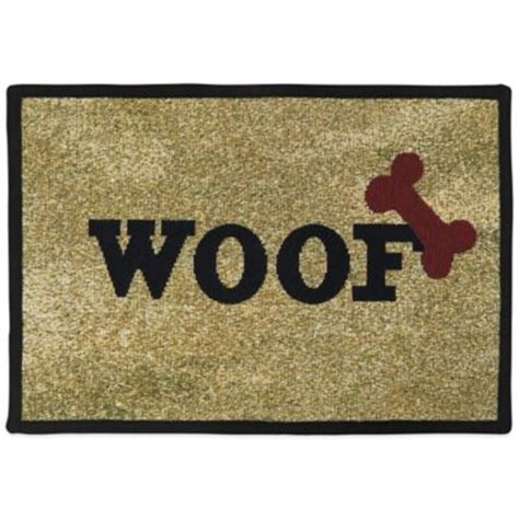 Woof Mat by Buy Bone Mat From Bed Bath Beyond