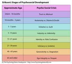 erik erikson research paper erik erikson stages psychosocial development stages
