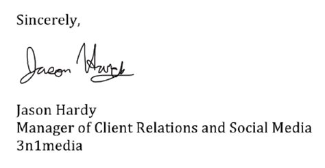 digital signature business letter business app of the week a practical exle affinity