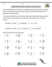 free 4th grade math worksheets