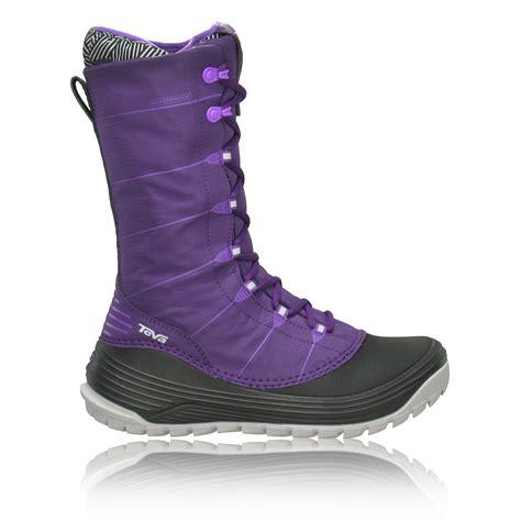waterproof sneakers womens teva jordanelle 2 womens purple waterproof sneakers