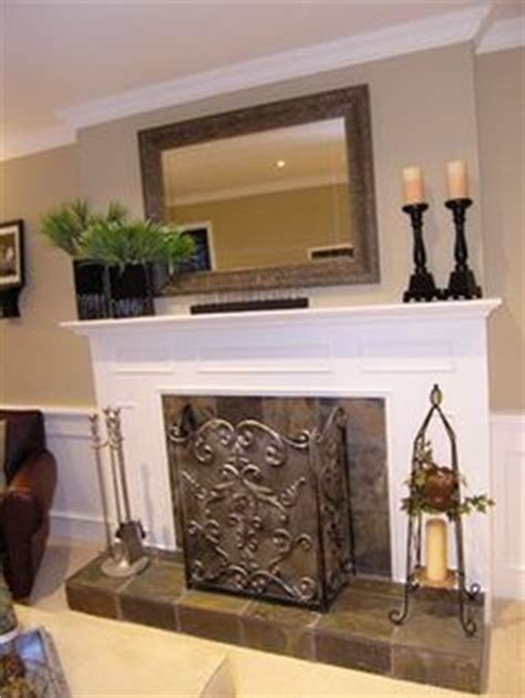 Hanging A Mirror Above A Fireplace by 1000 Ideas About Mirror Above Fireplace On