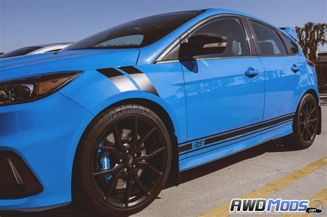 Aufkleber Ford Focus by Ford Focus Rs St Rocker Stripes Decal Kit By Revo Designs