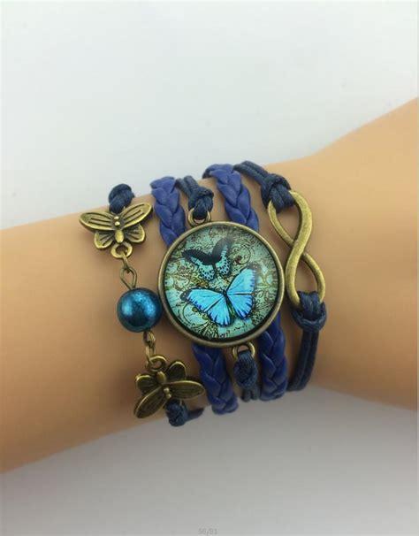Handmade Infinity Bracelet - 3pcs infinity handmade bracelet metal charm wax cord