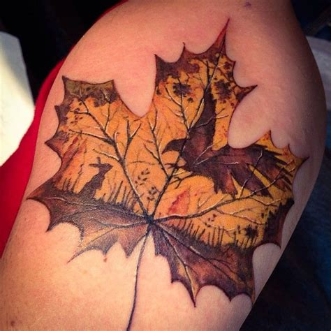 fall leaves tattoo 25 best ideas about pumpkin on