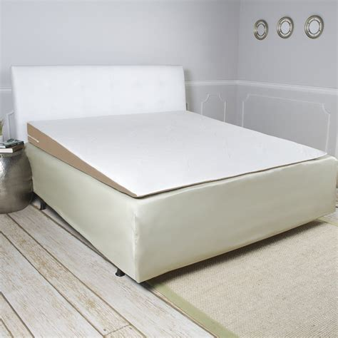incline pillow for bed memory foam mattress topper wedge full length width queen
