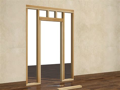 Framing Interior Doors How To Frame A Door Opening 13 Steps With Pictures
