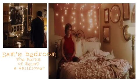a room perks sam s room in perks of being a wallflower i like bedding it s not white but it would