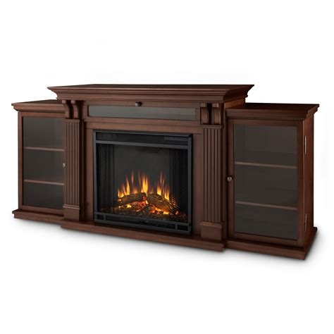 real flame calie tv stand with electric fireplace
