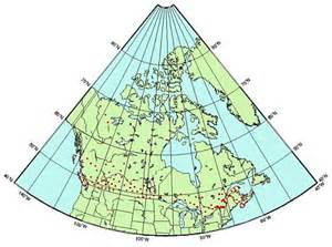 map of canada with latitude and longitude lines canada map latitude