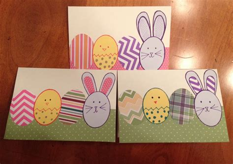 easy easter cards for toddlers to make easy easter cards