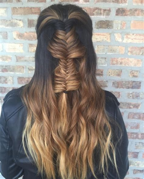 hairstyles half up half down with braids 23 latest half up half down hairstyle trends for 2016
