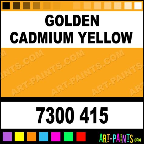 golden cadmium yellow neoart 15 set pastel paints 7300 415 golden cadmium yellow paint