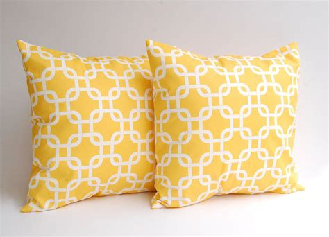 yellow decorative bed pillows these babies are going in my bedroom yellow pillow covers