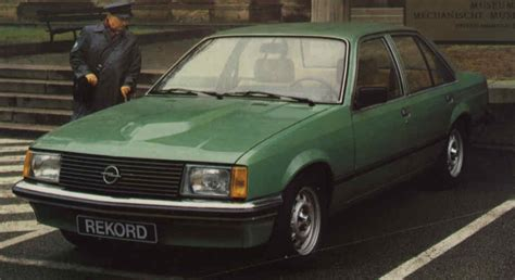 opel rekord diesel photos and comments www picautos