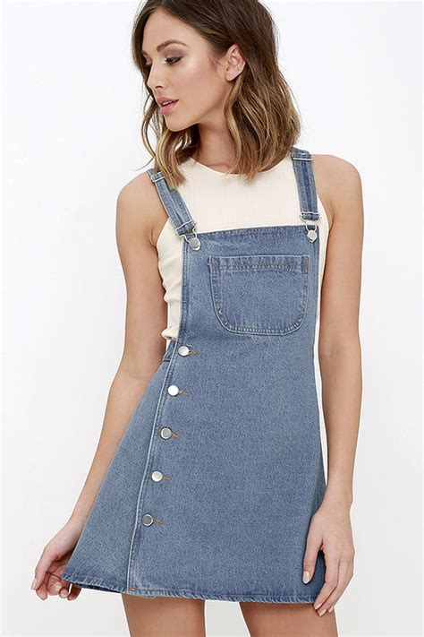 Dress Overall Overall denim dress overalls overall dress 48 00