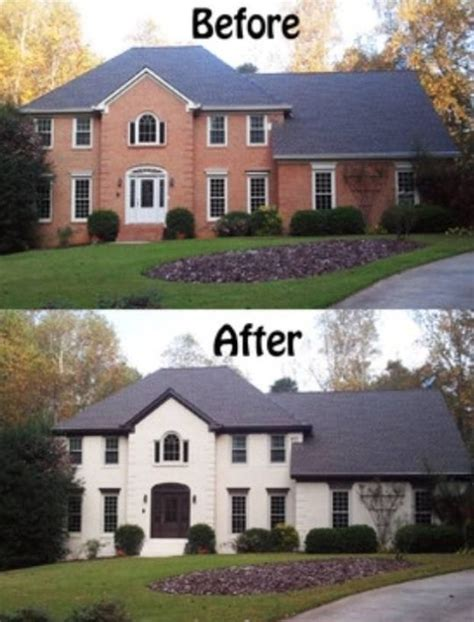 what color to paint brick house best 25 painted brick houses ideas on pinterest painted
