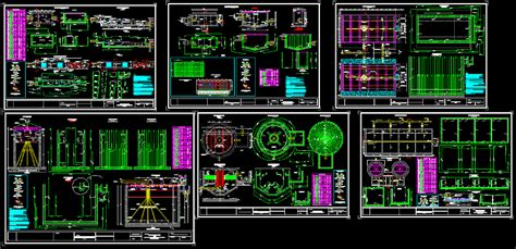 Structural Engineer Home Design plant wastewater treatment with uasb reactor in autocad