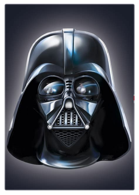 Star Wars Wandaufkleber by Wandsticker Darth Vader Star Wars Wandaufkleber