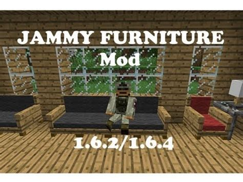 Furniture Mod 1 6 4 minecraft mod showcase jammy furniture 1 6 2 1 6 4