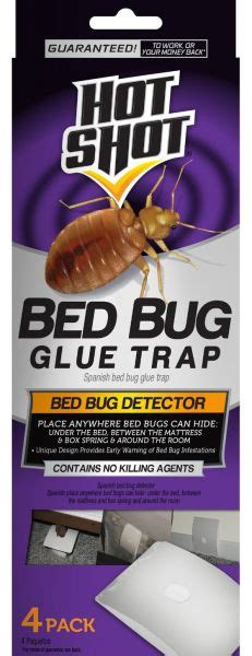 hot shot bed bug spray reviews 4 count bed bug glue trap by hot shot price review and