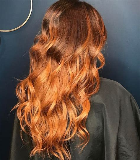 The 25 Best Copper Balayage Ideas On Copper Balayage Ombre Hair Copper 25 Best Ideas About Copper Balayage On Caramel Ombre Hair Balayage Hair And