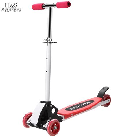 kids scooter with big wheels kickboard scooter floding adjustable kick scooters for
