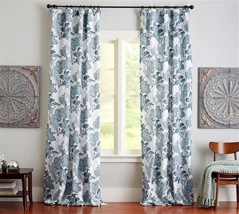 curtains pottery barn how to hang your curtains