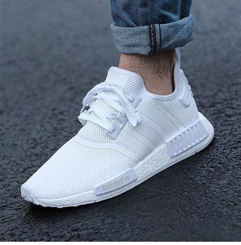 white adidas sneakers shoes white adidas adidas shoes nmd adidas nmd