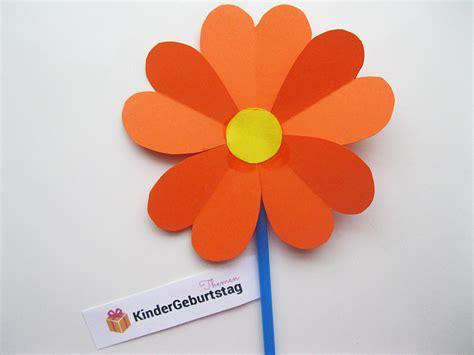 Basteln Mit Papier Blumen by Blumen Aus Papier Basteln Anleitung F 252 R Die Kindern