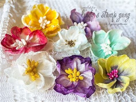 Handmade Flowers Tutorial - handmade flowers tutorial