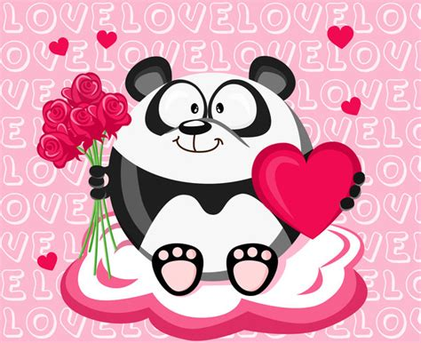 valentines day panda february panda s day by mhbilder on deviantart