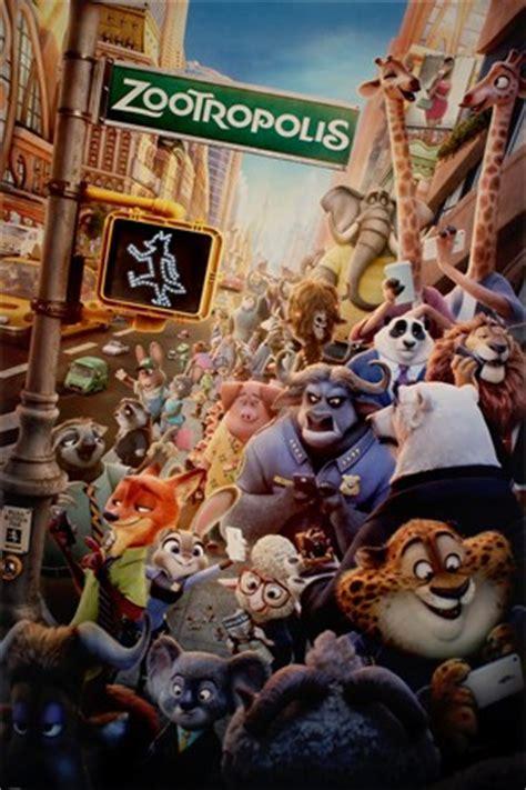 film disney zootropolis character montage disney zootropolis poster buy online