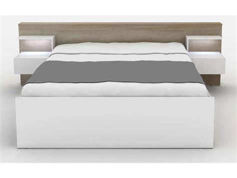 lit avec led conforama affordable lit conforama noir