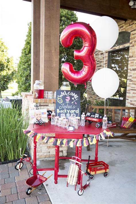 birthday backyard ideas kara s ideas backyard bbq birthday kara s