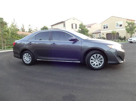 toyota camry limo used 2013 toyota camry le for sale ws 10484 we sell limos