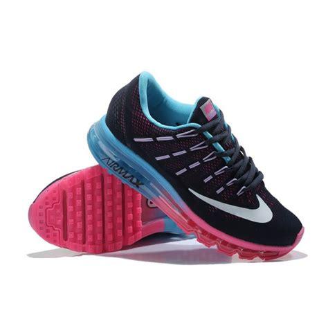 cheap nike air max 2016 womens running shoes black pink