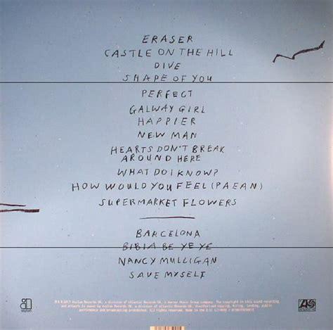 download mp3 ed sheeran divide sheeran ed divide vinyl gatefold 180 gram vinyl 2xlp