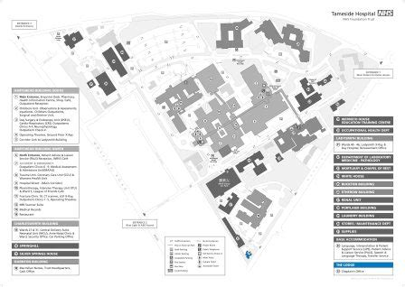 tameside and glossop integrated care nhs site plan