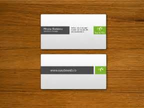 business cards reflects which business you are in