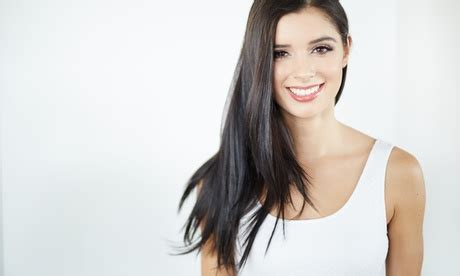 haircut groupon uae choice of hair care package at beauty bus salon up to 69